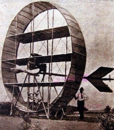 Самолет Гэри (1910 год) имел